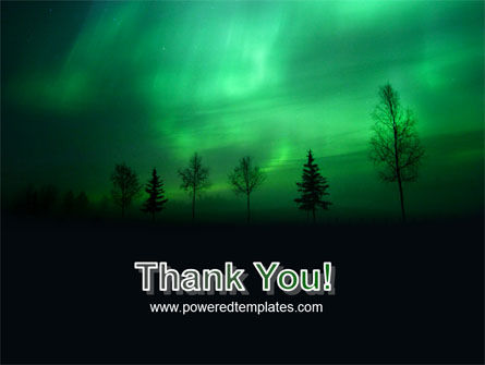 Northern Lights PowerPoint Template Slide 20