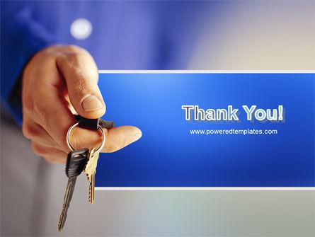 Car Keys PowerPoint Template Slide 20