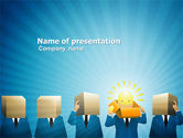 Business: Brainstorming Session PowerPoint Template #03611