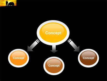Romantic Sunset PowerPoint Template, Slide 4, 03617, Cars and Transportation — PoweredTemplate.com