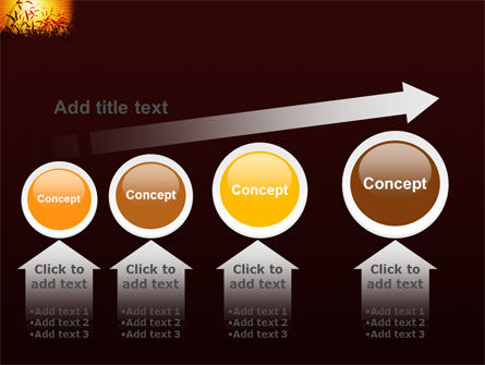 Sunny Field PowerPoint Template Slide 13