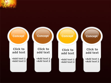 Sunny Field PowerPoint Template Slide 5