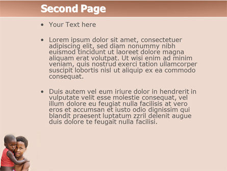 Refugees PowerPoint Template, Slide 2, 03619, People — PoweredTemplate.com