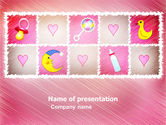 Education & Training: Baby's Room Theme PowerPoint Template #03622