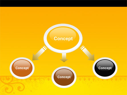 Decorated Panel PowerPoint Template Slide 4
