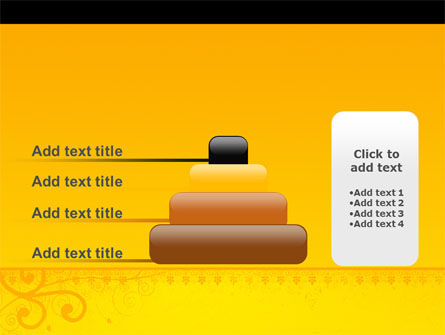 Decorated Panel PowerPoint Template Slide 8