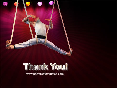 Circus Gymnast PowerPoint Template Slide 20
