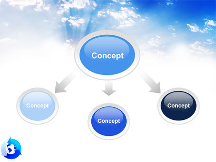 Global Recycle PowerPoint Template, Slide 4, 03628, Global — PoweredTemplate.com