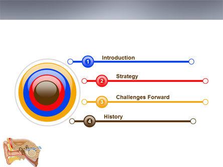 Auricle PowerPoint Template, Slide 3, 03631, Medical — PoweredTemplate.com