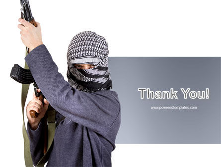 Terrorist PowerPoint Template Slide 20
