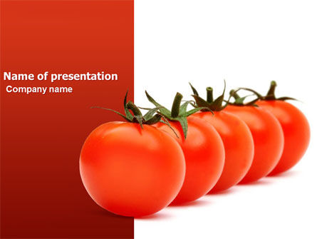 Selection PowerPoint Template, 03633, Agriculture — PoweredTemplate.com