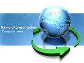 Global: Restoring World PowerPoint Template #03636