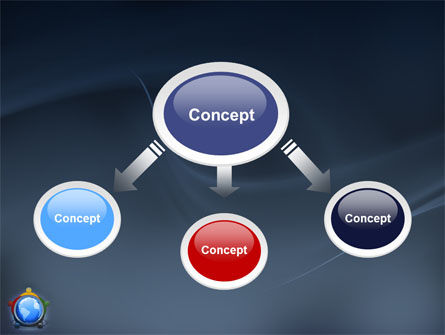 Five Continents PowerPoint Template, Slide 4, 03637, Global — PoweredTemplate.com