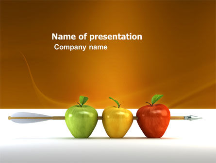 Reaching the Aim PowerPoint Template