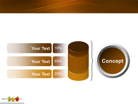 Reaching the Aim PowerPoint Template Slide 11