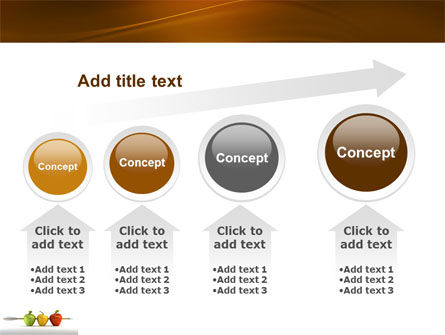 Reaching the Aim PowerPoint Template Slide 13