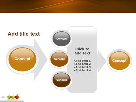 Reaching the Aim PowerPoint Template Slide 17