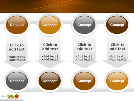 Reaching the Aim PowerPoint Template Slide 18