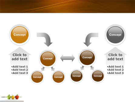Reaching the Aim PowerPoint Template Slide 19
