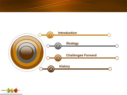 Reaching the Aim PowerPoint Template Slide 3