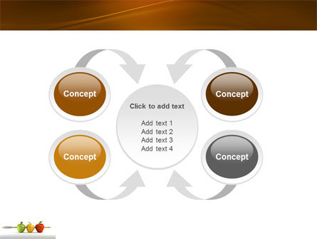 Reaching the Aim PowerPoint Template Slide 6