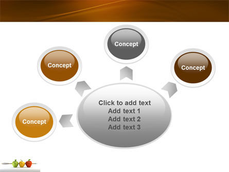 Reaching the Aim PowerPoint Template Slide 7
