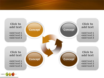 Reaching the Aim PowerPoint Template Slide 9