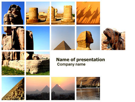 Traveling PowerPoint Template, 03640, Careers/Industry — PoweredTemplate.com
