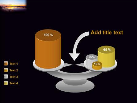 Ocean Sunset PowerPoint Template Slide 10