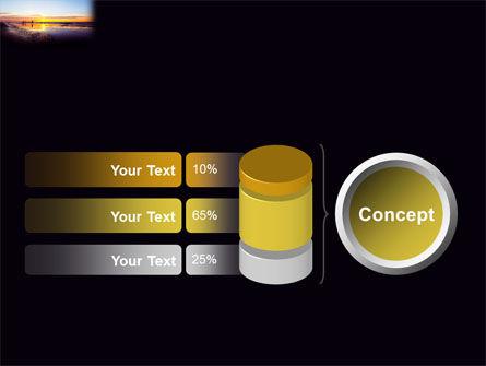 Ocean Sunset PowerPoint Template Slide 11