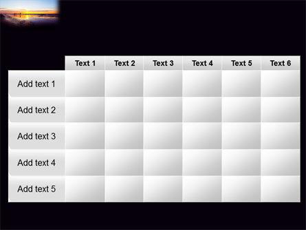 Ocean Sunset PowerPoint Template Slide 15