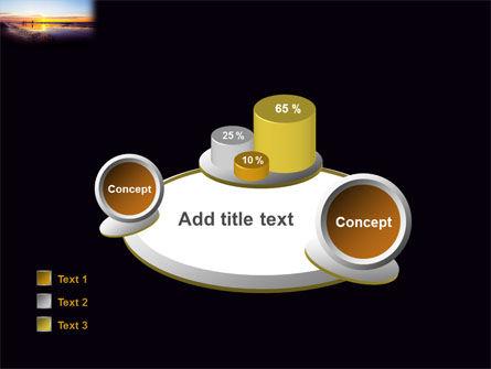 Ocean Sunset PowerPoint Template Slide 16