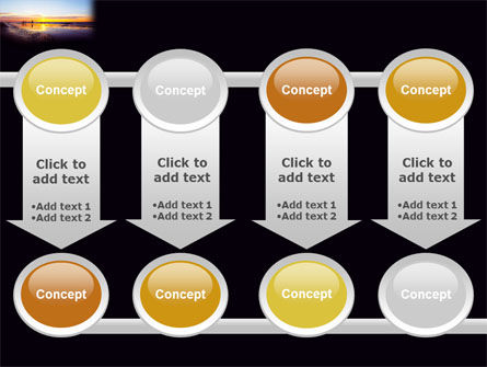 Ocean Sunset PowerPoint Template Slide 18