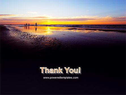 Ocean Sunset PowerPoint Template Slide 20