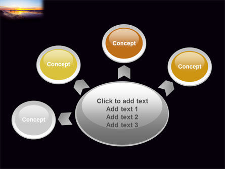 Ocean Sunset PowerPoint Template Slide 7