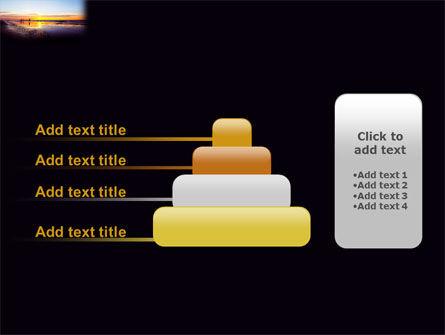 Ocean Sunset PowerPoint Template Slide 8