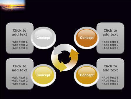 Ocean Sunset PowerPoint Template Slide 9