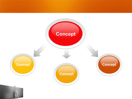 Helping To Escape PowerPoint Template, Slide 4, 03647, Business Concepts — PoweredTemplate.com