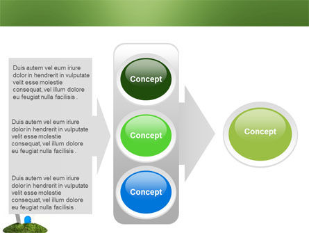 Model of House PowerPoint Template Slide 11