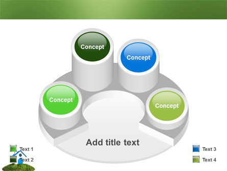 Model of House PowerPoint Template Slide 12