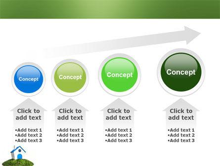 Model of House PowerPoint Template Slide 13