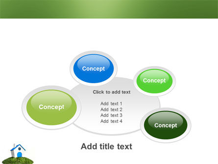 Model of House PowerPoint Template Slide 16