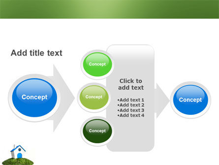 Model of House PowerPoint Template Slide 17