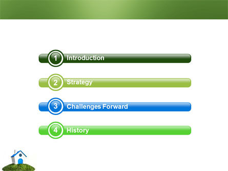 Model of House PowerPoint Template Slide 3