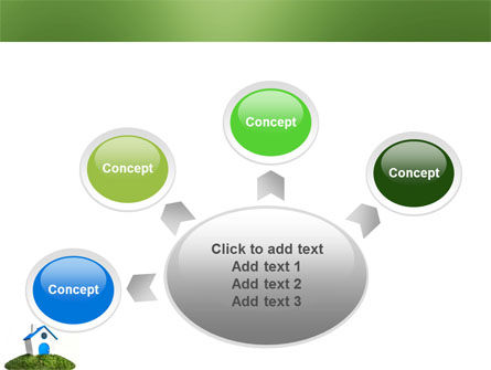 Model of House PowerPoint Template Slide 7