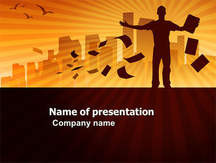 Feeling PowerPoint Template, 03649, Business — PoweredTemplate.com