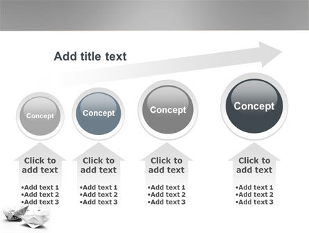 Paper Ship PowerPoint Template Slide 13