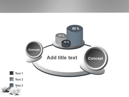 Paper Ship PowerPoint Template Slide 16