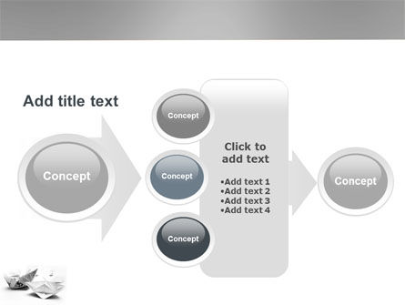 Paper Ship PowerPoint Template Slide 17