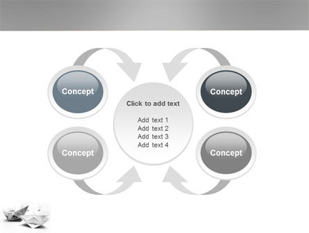 Paper Ship PowerPoint Template Slide 6